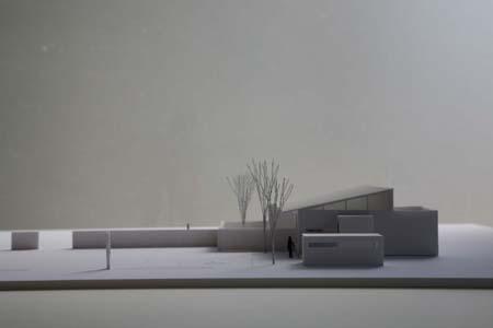 勾配屋根模型1