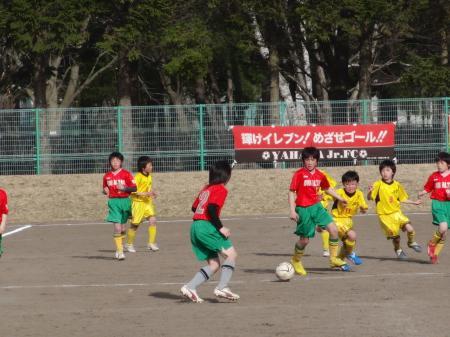 試合3-3