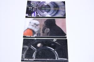 ターウォーズ 3Dトレーディングカード 3枚セット