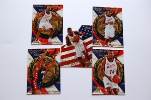 NBAカード アトランタ五輪 アメリカ代表 バスケットボール カード