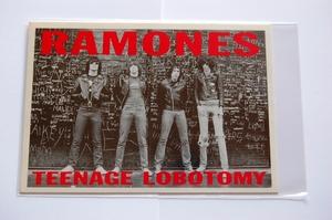 バンド Ramones ラモーンズ ポストカード