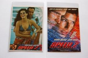 映画 スピード2 ポストカード サンドラ・ブロック