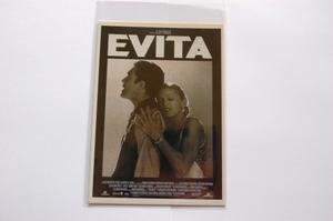 映画 エビータ ポストカード マドンナ アントニオ・バンデラス