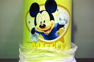 水筒 ミッキーマウス ステンレスボトル イエロー