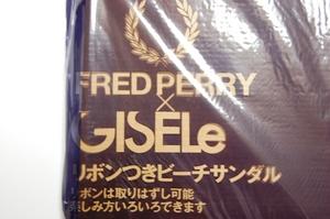 フレッドペリー リボンつきビーチサンダル