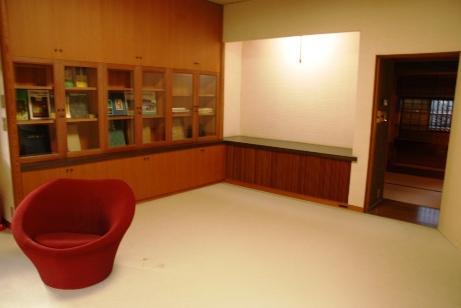 書斎→茶室