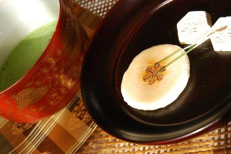 高山の干菓子