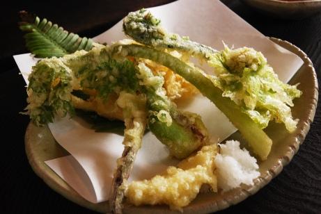 7 山菜天ぷら