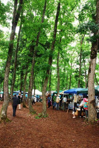 林の中の工人祭