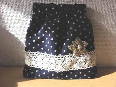 バネポーチ・紺花 のコピー