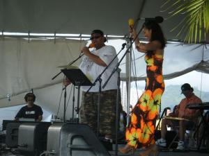 ukulele picnic in hawaii 2009-2