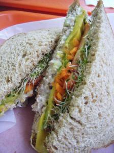 raffage natural foods sandwhich