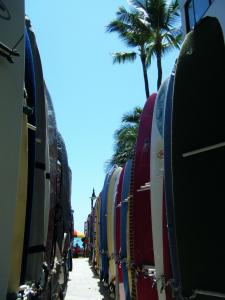 waikiki beach surfborad