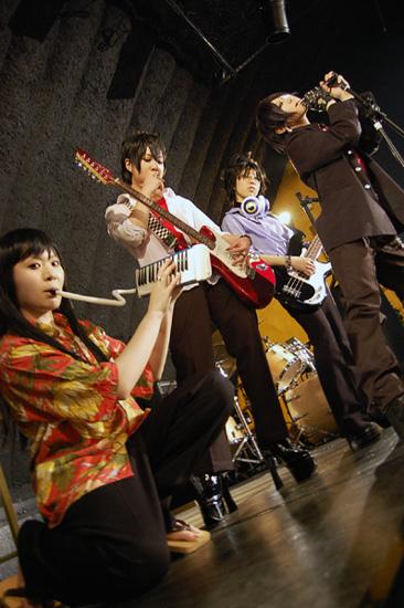 銀魂学生バンド01