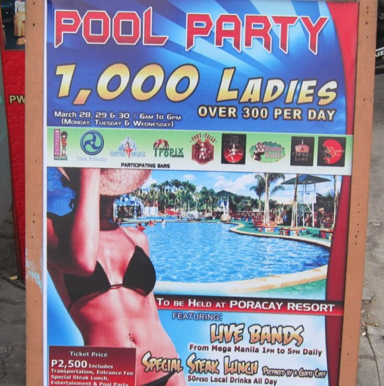 DH poolparty Poracay