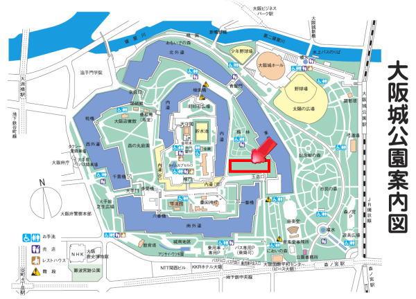 大阪城map1