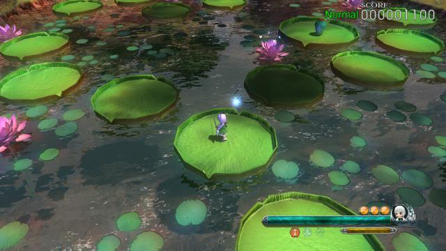 ステージ1・妖精の森