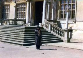 貴族の家入口