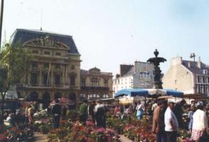 シェルブルグ花市場