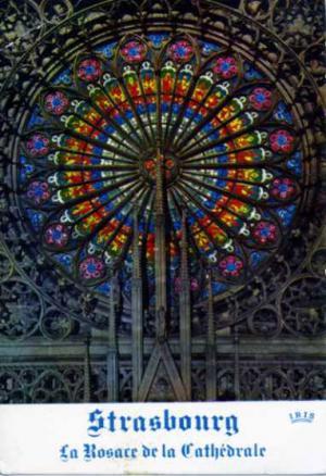 ストラスブール寺院のステンド