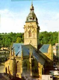 シェルブルグ小さな教会