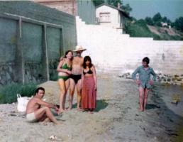 黒海の砂浜2