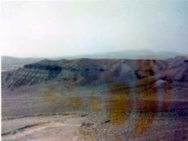 アフガンの砂漠