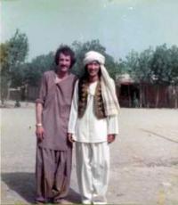 アフガン人青年と裕さん