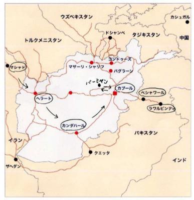 アフガニスタン地図5