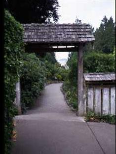 BG日本庭園入口