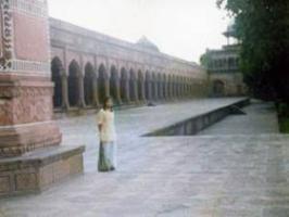 タジマハール回廊