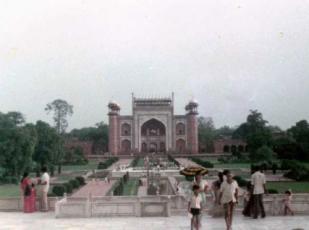タジマハール入口門