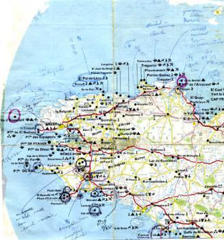 ボロボロ地図