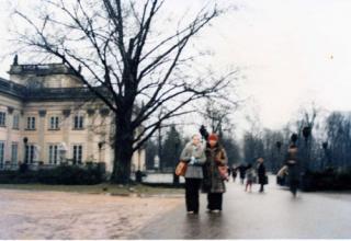 ワルシャワ大学で