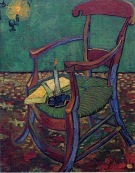 ゴッホの絵椅子