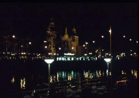 アムス夜運河より