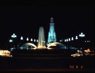 マドリッドの夜景