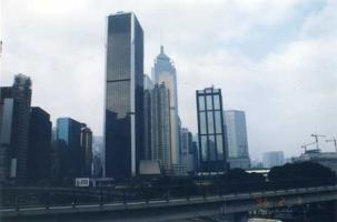 香港ビル風景