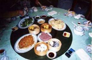 香港食事テーブル2