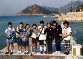 香港海辺少女たち