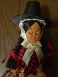 ウェールズの人形寝顔