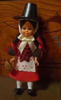 ウェールズの人形全身