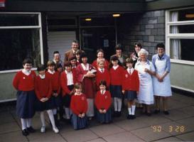 ウェールズの小学校90