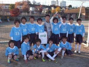 【若葉台FC 招待大会】 青葉FC 5年生が優勝しました!
