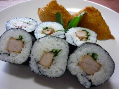 焼きまぐろ巻き寿司