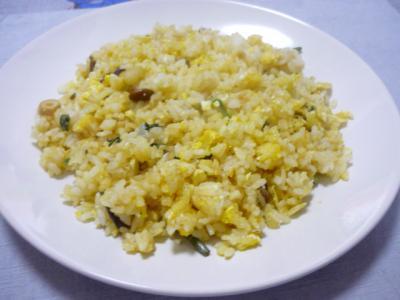 山菜チャーハン