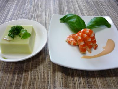 エンドウ豆腐
