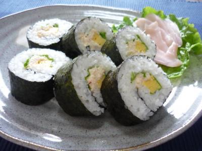 カニマヨ巻き