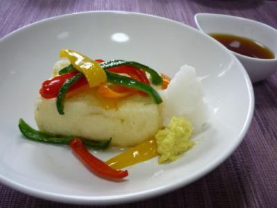 豆腐の揚げ物