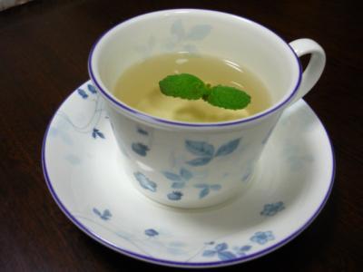 ホットミント茶
